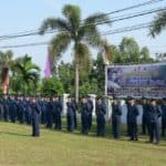 Peringati Ke-72 Hari Bakti Tni Angkatan Udara, Lanud Rhf Gelar Upacara