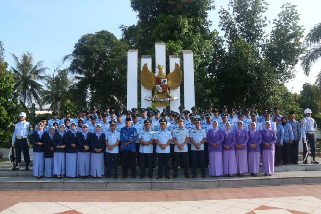 Komandan Lanud Rhf Diwakili Kadispers Pimpin Ziarah Peringatan Ke-72 Hari Bakti Tni Au