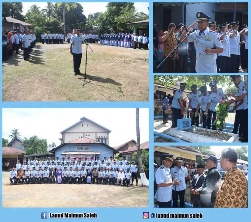 Ziarah Tni Au Se Aceh Dalam Rangka Hari Bhakti Tni Au Ke-72