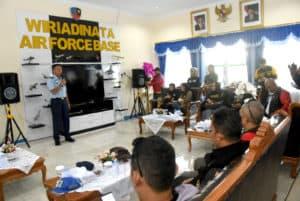 LANUD WIRIADINATA DAN MOTOR BESAR CLUB INDONESIA GELAR BAKTI SOSIAL.