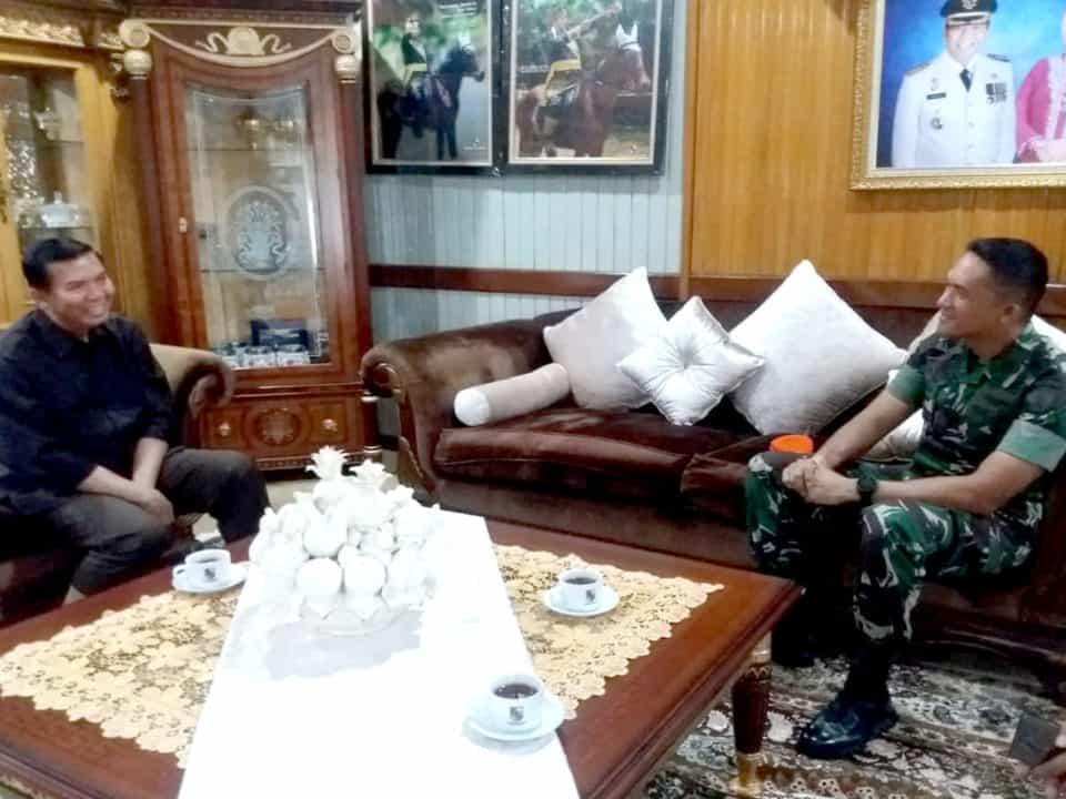 Danyonko 462 Paskhas Silaturahmi Ke Walikota Pekanbaru