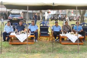 OLAH RAGA BERSAMA BENTUK NYATA SINERGITAS TNI POLRI