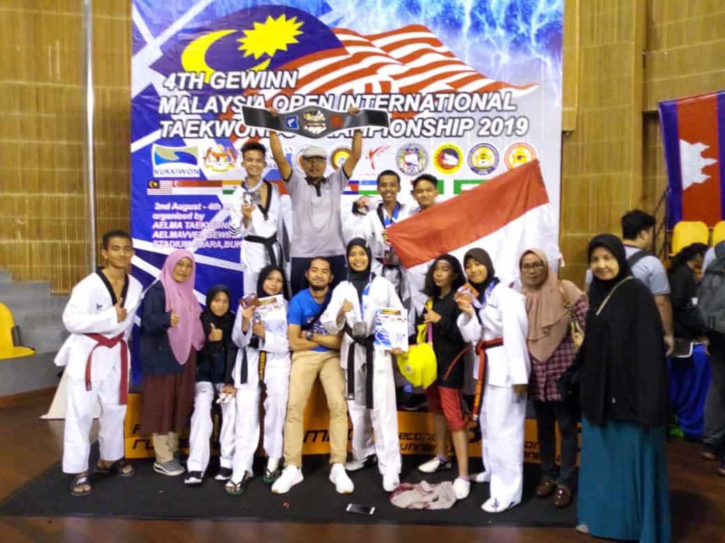 Atlet Doojang Taekwondo Yonko 462 Paskhas Raih Medali Di Kejuaraan Gewiin Malaysia