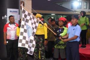 DANLANUD WIRIADINATA MENGHADIRI PELEPASAN GOWES KEMERDEKAAN, PT. PINDAD, TNI-POLRI