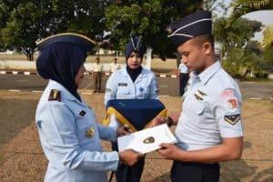 Serda M. Rahmat Al Harun raih predikat siswa terbaik