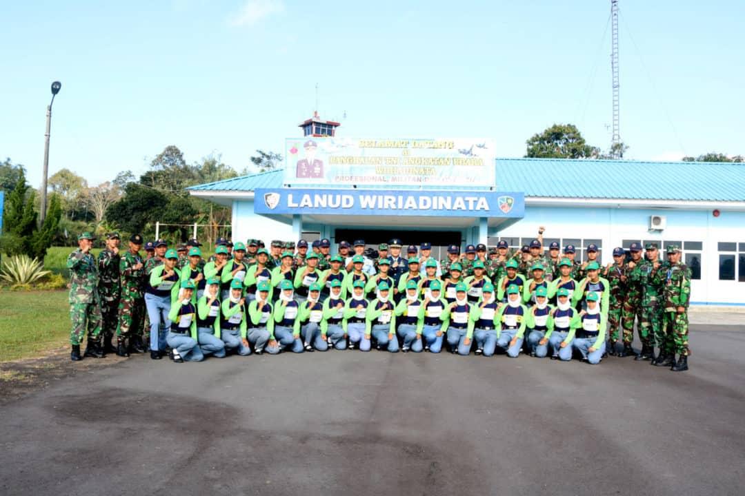 Pemusatan Latihan Paskibra Di Lanud Wiriadinata
