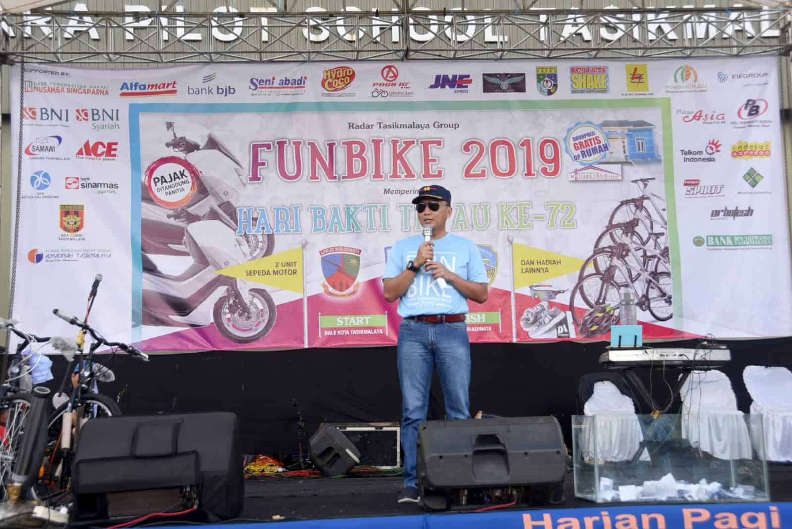 Lanud Wiriadinata Dan Radar Tasikmalaya Grup Gelar Fun Bike