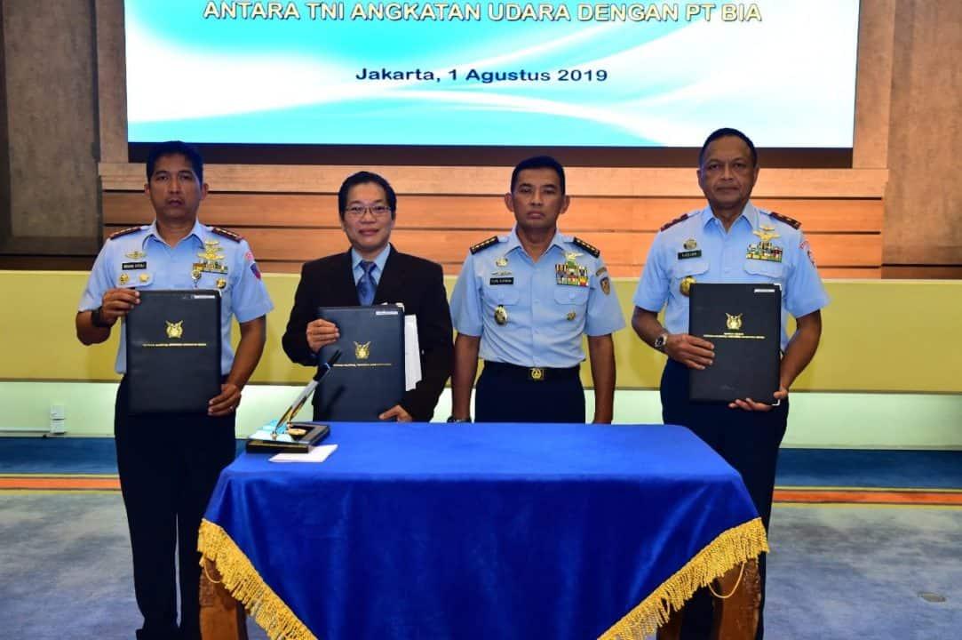 Tni Au Jalin Kerja Sama Pemanfaatan Aset Dengan Pt. Bia