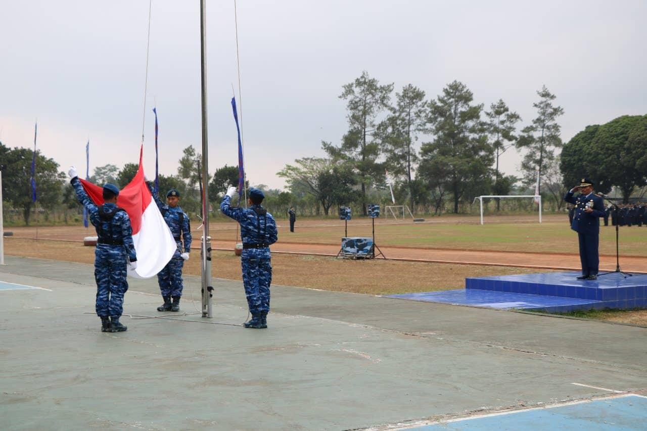 Upacara Bendera 17 Agustus Di Lanud Abdulrachman Saleh