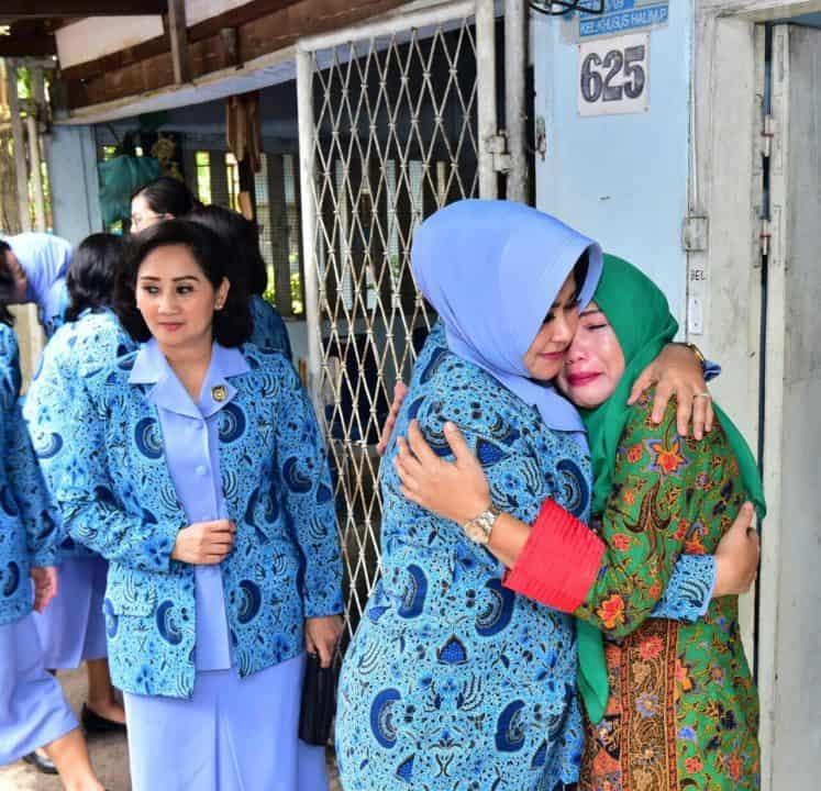 Pia Ardhya Garini Peduli, Ketum Pia AG Sambangi Warakawuri TNI AU