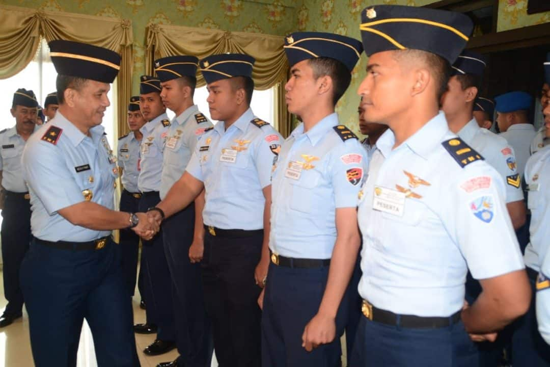 Danlanud Abdulrachman Saleh Buka Kursus Crm A-31