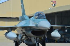 4 pesawat F 16 latihan Bantuan Tembakan (Latbantem) Trimatra di Situbondo