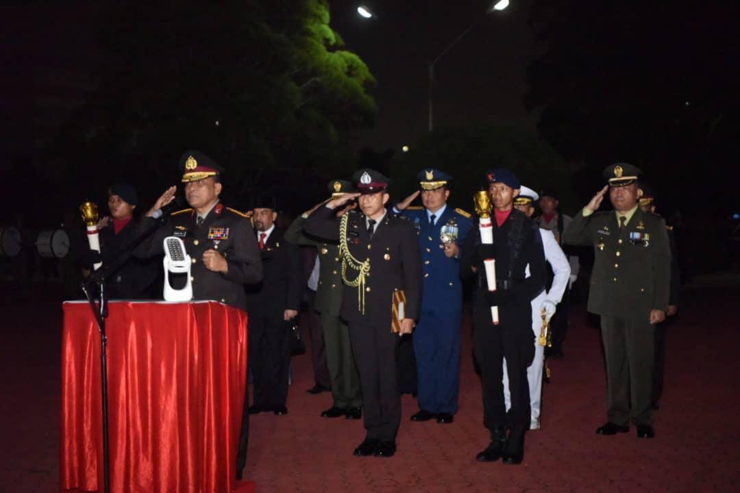 Danlanud Rsn Hadiri AKRS di TMP Kusuma Dharma Pekanbaru