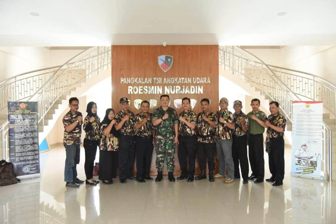 Danlanud RSN Menerima Kunjungan FKPPI