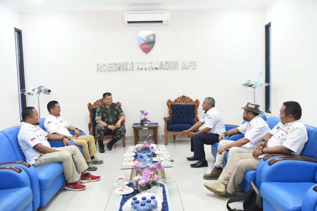 Danlanud Rsn Terima Kunjungan Pengurus Daerah IOF Riau