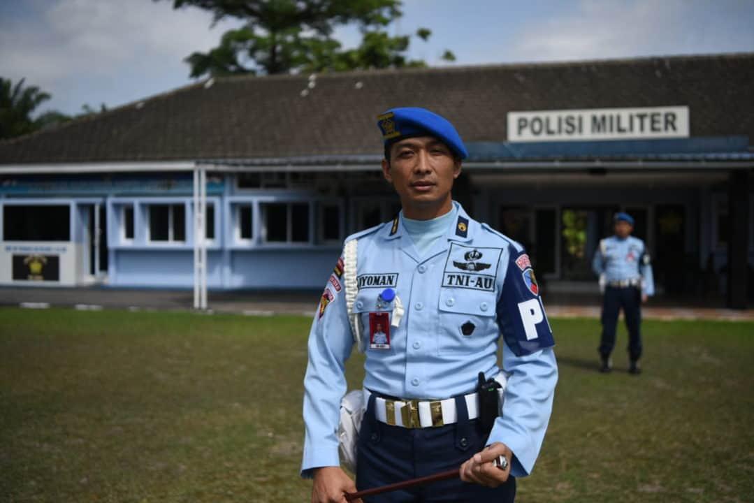 Dansatpom Lanud Rsn: Jaga Kehormatan Dalam Bertugas