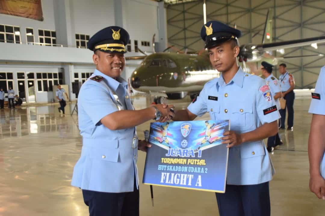 Skadron Udara 2 Lanud Halim Perdanakusuma Peringati Hut Ke-69