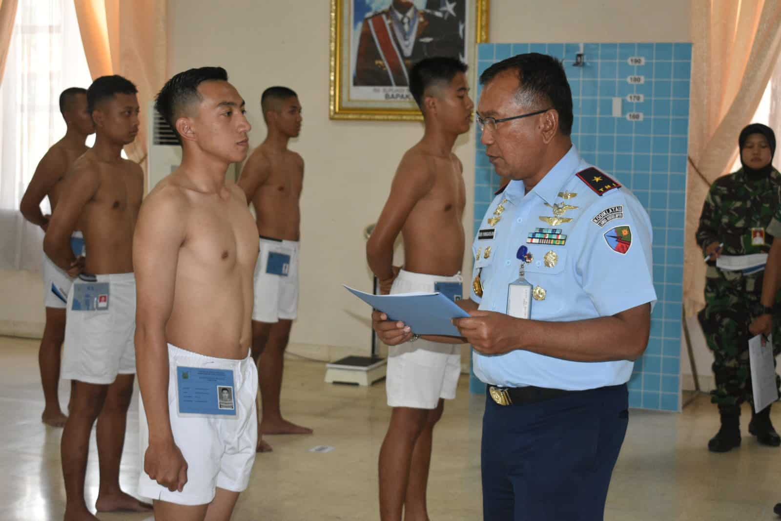 Lanud Adisutjipto Gelar Sidang Pantukhirda Casis Bintara PK 2019