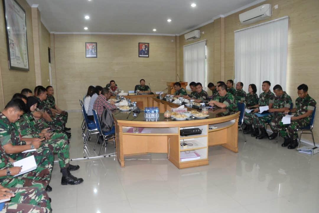 Kunjungan Tim BPK RI di Kosekhanudnas III