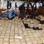 Penyerahan dan Penyembelihan Qurban di Markas Wing I Paskhas