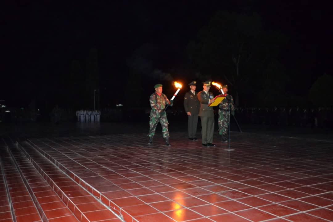 Lanud Sjamsudin Noor Ikuti Taptu dan AKRS Memperingati HUT RI ke-74 2019 di Beberapa Kota Wilayah Kalimantan Selatan