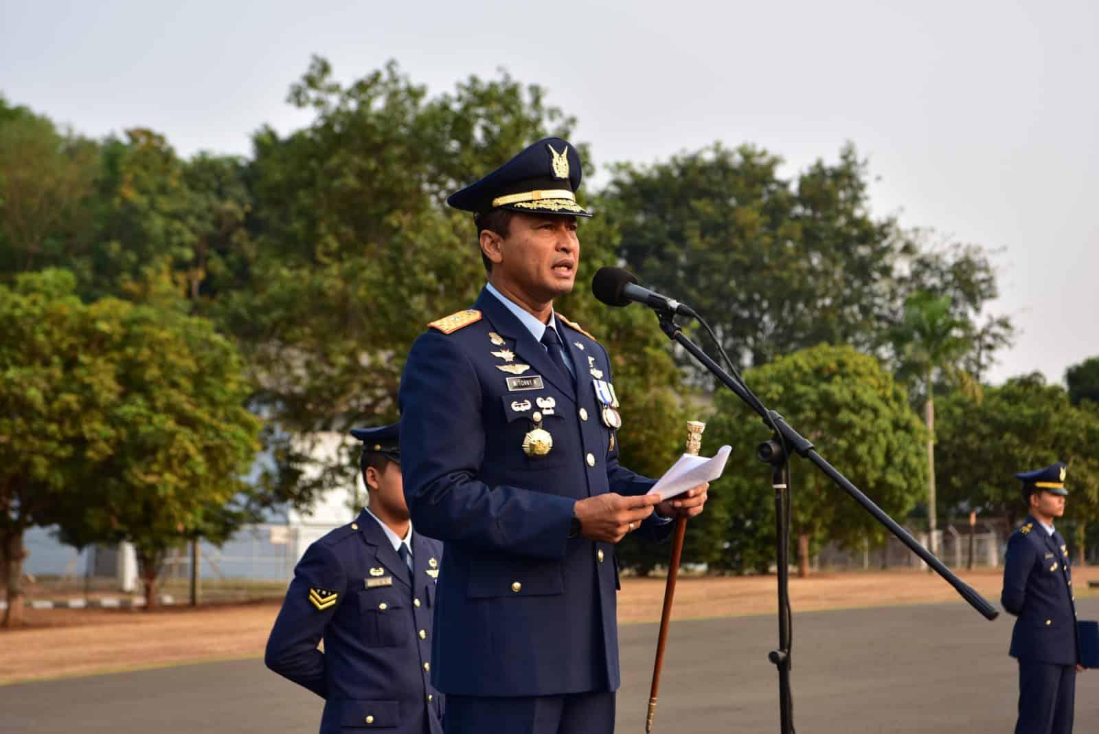 Realisasikan Indonesia Emas 2045, TNI AU Harus Tangguh