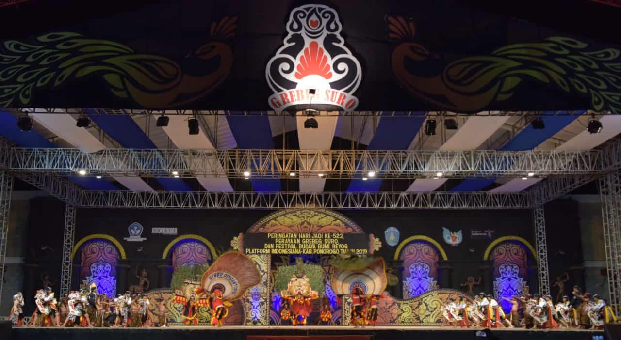 Reog Singo Dirgantoro bikin histeris di Festival Nasional Reog Ponorogo