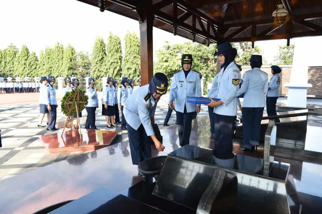 Wara Yogyakarta Ziarah ke Makam Pahlawan TNI AU Ngoto