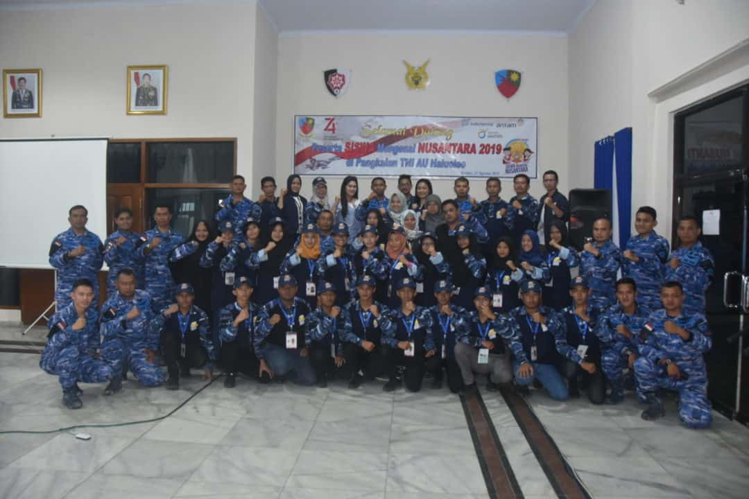SMN Provinsi Bangka Belitung Tiba Di Lanud Haluoleo