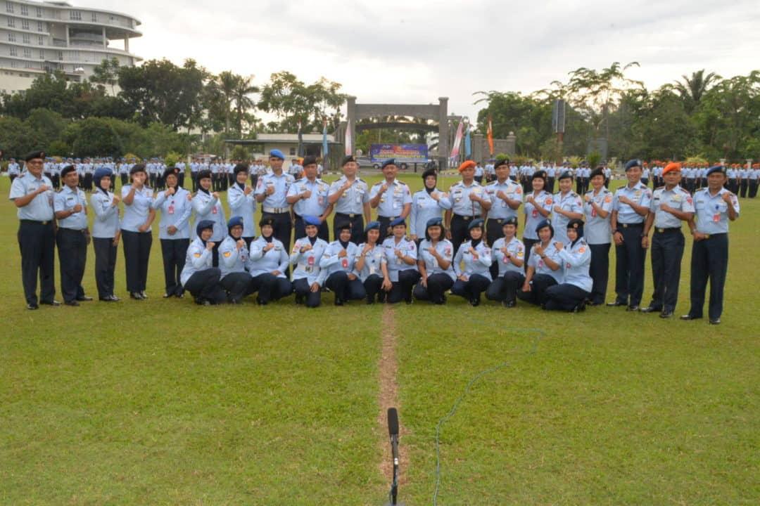 Apel Khusus Peringatan Ke-56 HUT WARA Di Makosekhanudnas III