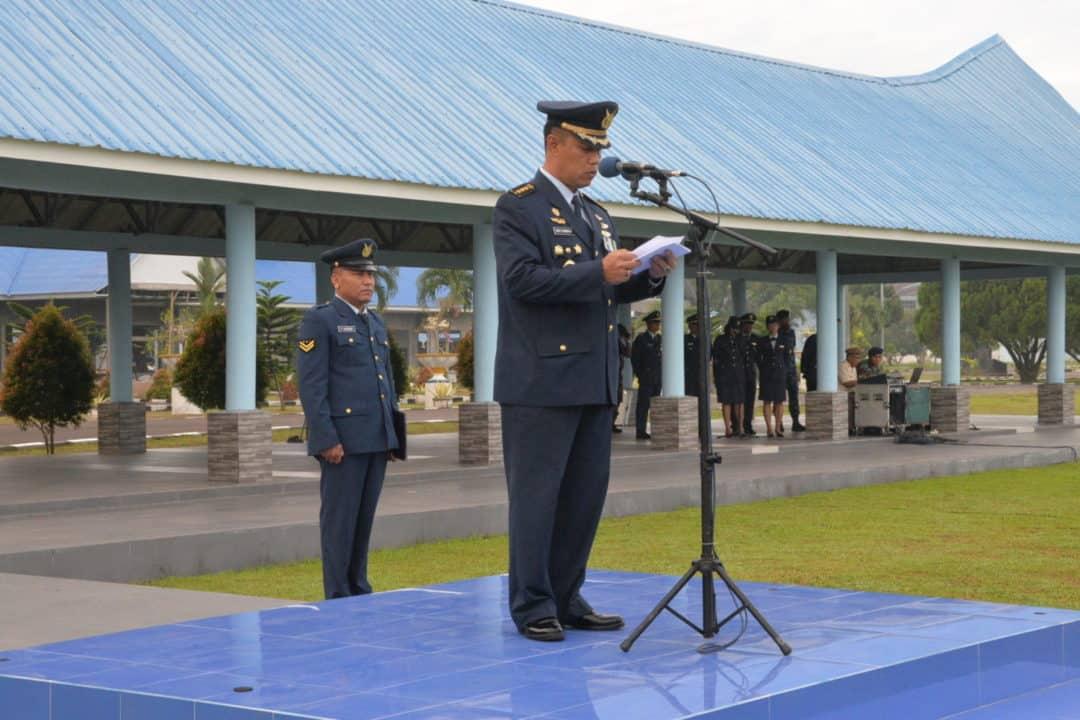 Aspers Kosekhanudnas III Pimpin Upacara Peringati HUT Ke-74 Kemerdekaan RI