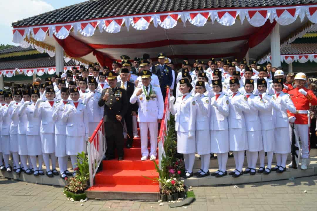 Panglima Kosekhanudnas III Hadiri Upacara Detik-Detik Proklamasi di Kota Medan