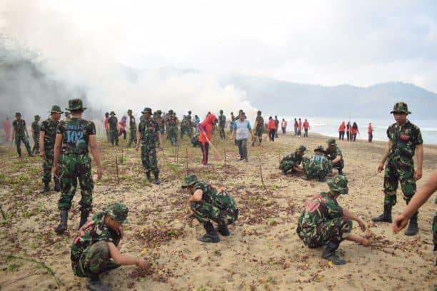 Bhakti TNI AU Bersama Pemkab Pacitan
