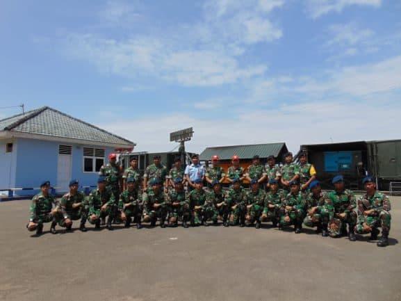 Siswa Sejursarta Radar A-34 Laksanakan Lattis Di Satrad 215 Congot