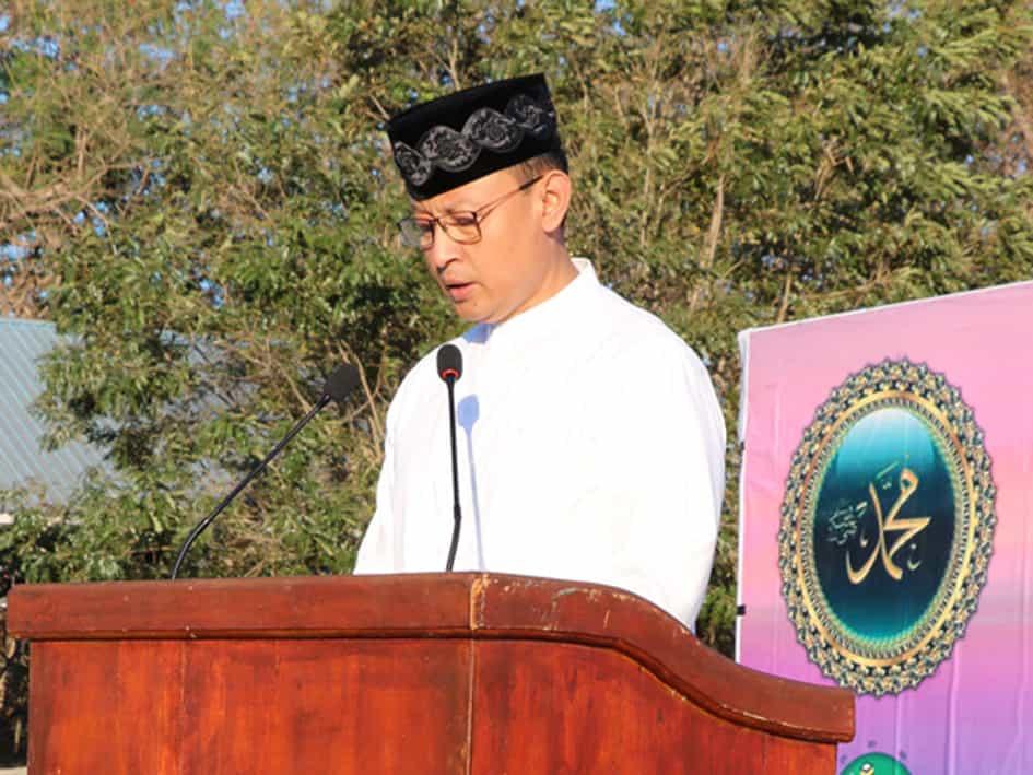 Sholat Idul Adha di Lanud El Tari