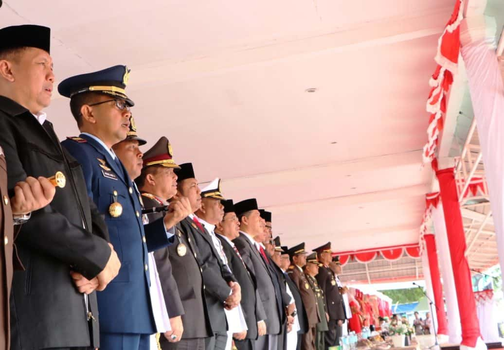 DANLANUD SIM HADIRI UPACARA HUT KE-74 REPUBLIK INDONESIA