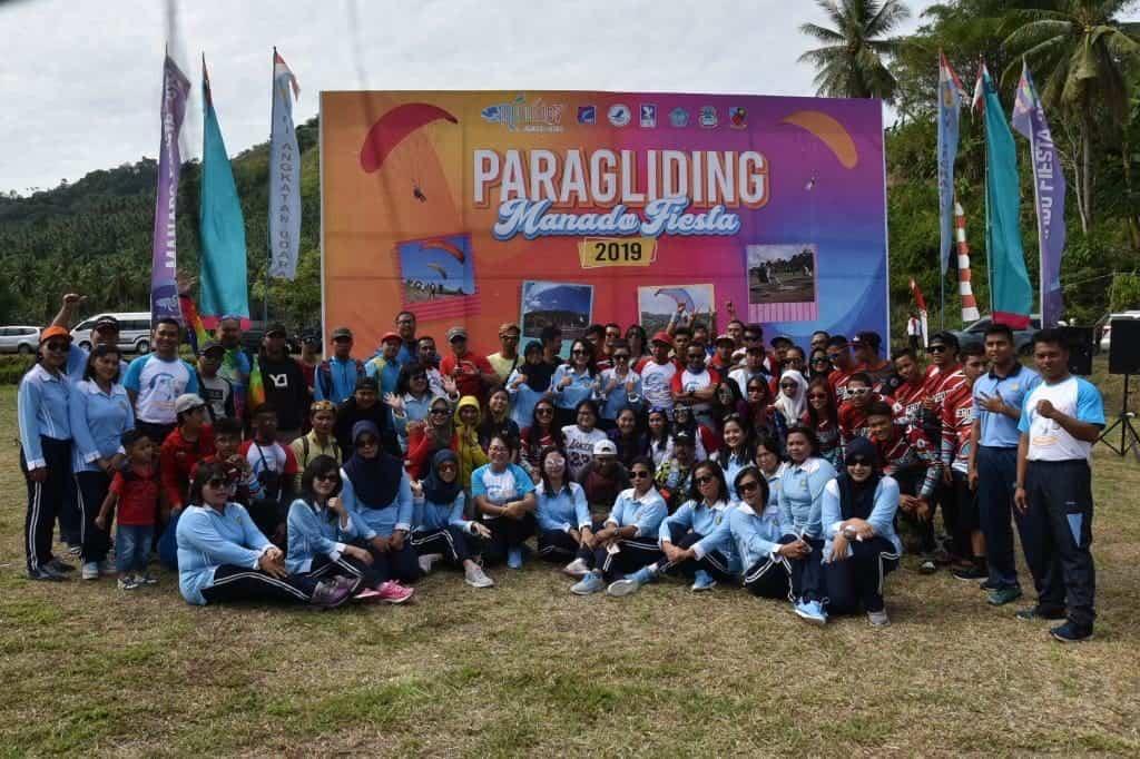Walikota Manado Membuka Kejuaran Paralayang Internasional Manado Fiesta Tahun 2019