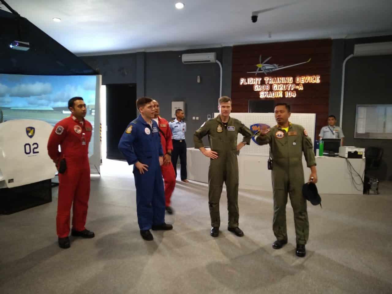 Danlanud Adisutjipto Terima Kunjungan Delegasi Cfs Exchange Visit Programme