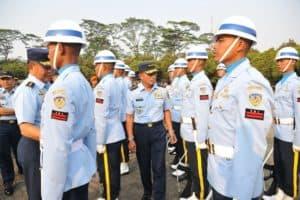 Jelang Peringatan Hut Ke-74 Ri, Kasau Lepas Pasukan Upacara Tni Au