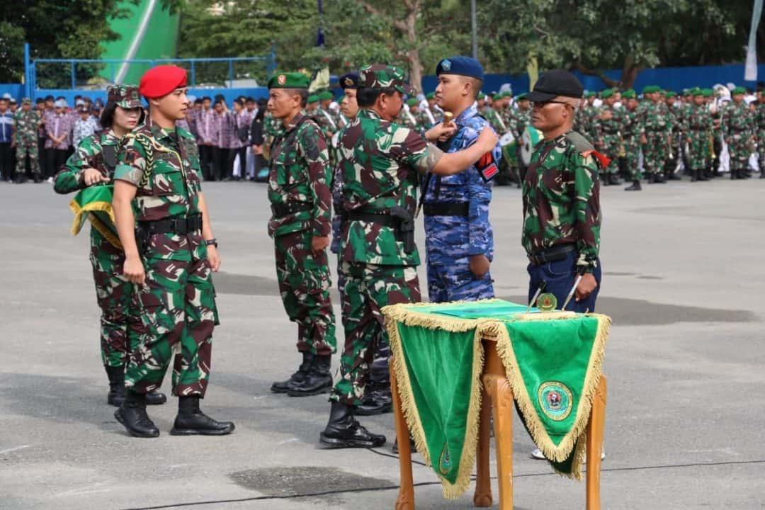 Danlanud Dhomber Hadiri Acara Penutupan TMMD Ke 105 Yang Di Pimpin Panglima TNI