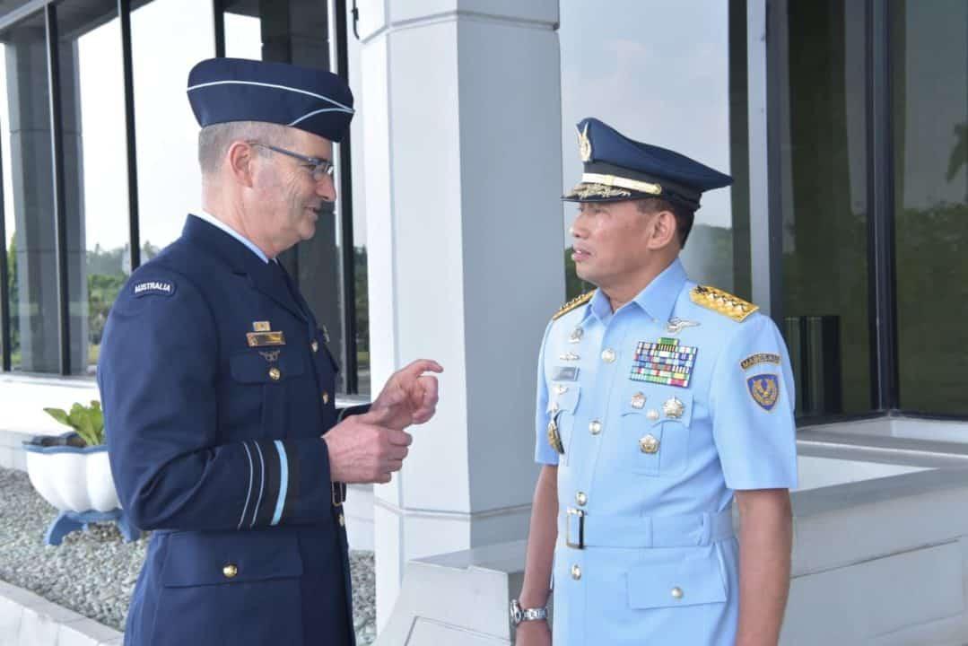 Tingkatkan Kerja Sama Bilateral AU, CAF RAAF Temui Kasau