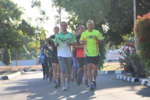 Uji Coba Lintasan Obstacle Run jelang AUOR 2019