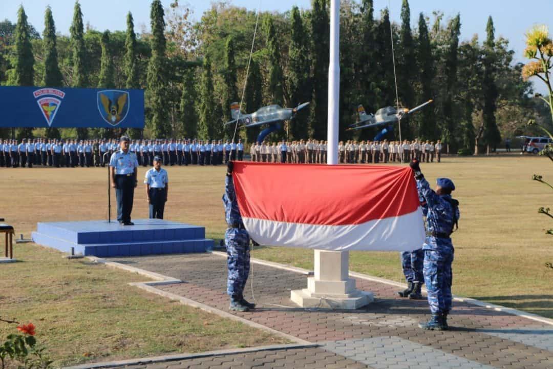 Upacara Bendera 17an : Kadisops Lanud Adisutjipto Ingatkan Kembali Pentingnya Permildas Prajurit