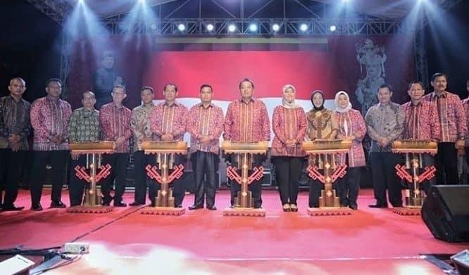 Danlanud BNY Ikut Memeriahkan Pembukaan Lampung Krakatau Festival