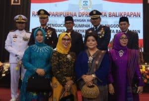 Komandan Lanud Dhomber Hadiri Acara Pelantikan Anggota DPRD Kota Balikpapan
