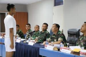 LANUD MANUHUA MELAKSANAKAN PANTUKHIRDA CALON BINTARA PRAJURIT TNI AU TAHUN ANGGARAN 2019