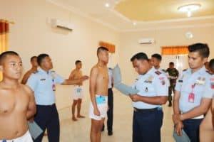 Sidang Pantukhirda Casis Bintara di Lanud BNY
