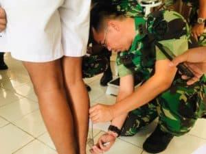KOMANDAN LANUD SAM RATULANGI PIMPIN SIDANG PANTOKHIR DAERAH CASIS BINTARA PK TNI-AU TA. 2019