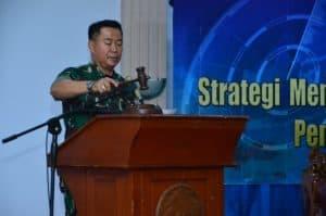 Seminar Nasional TNI AU, Kasau Tekankan Pentingnya Payung Hukum Tata Kelola Ruang Udara Nasional