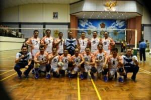 PIALA PANGLIMA TNI 2019, Tim Bola Voli Putra & Putri TNI AU Melenggang ke Babak Berikutnya